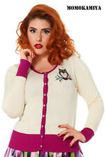 Women's Cotton Hip Length Crew Neck Button Jumpers & Cardigans