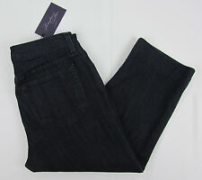NWT Womens NYDJ Not Your Daughters jeans Cropped Capri pants Lift Tuck 12 P