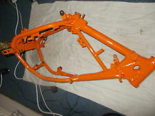 ktm gs125 gs 125 1986 86 frame chassis with date letter not 250 500 evo