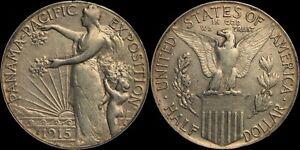 1915-S Panama-Pacific Exposition Commemorative Half Dollar