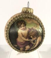 VTG 1991 CHRISTMAS KREBS MASTERS ON SILK CHILDREN OF THE SHELL - Murillo Glass