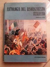 ANTOLOGIA DEL RISORGIMENTO ITALIANO LAMA BIANCO 1961