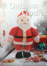 King Cole Christmas Crochet Book 2 Santa Snowman Stockings Toys Decorations etc