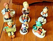 Six Goebel Hummel Figurines Inc. Morning Concert Let's Sing Singing Lesson