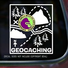 GEOCACHING Vinyl Decal Sticker Map Game GPS Geo Game Wall Laptop Car Sign