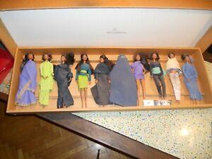 Barbie da collezione - Abbigliamento etnico - Serie numerata 47/50 - 10 modelli