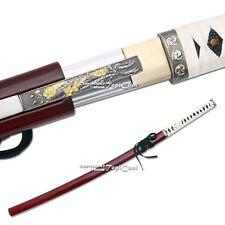 Musha Brand Handmade Zetsurin Samurai Katana Sword Sharp Blade w/ Mini Tanto RD
