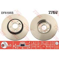 DISCO FRENO (2 pezzo) - TRW df6185s