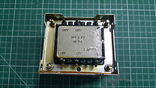 D.E.I 240 AC transformateur 15 V X 2, 12 V, 9 V, 5 V, 2 Ampères