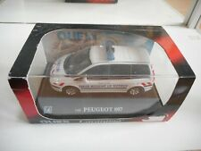 Cararama Peugeot 807 AMbulance in White on 1:43 in Box