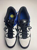 Nike Alpha Huarache Varsity MCS Blue Black Baseball Cleats AO7959-104 Size 9