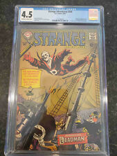 Strange Adventures #205 - CGC 4.5 - Never Pressed or Cleaned - First Deadman!