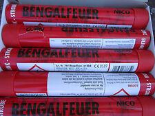 Bengalfeuer/Nicofeuérwerk/ Bengalos in Rot-Blink-Stobe/5 Stück/ Schnäppchen