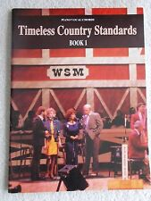 Timeless Country Standards Bk 1 Voice Piano Guitar Unmarked