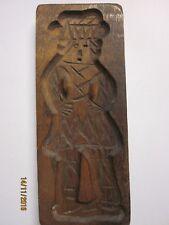 Altes Holzmodel Holz Model Springerle Spekulatiusform Backform Frau 19 x 8 cm