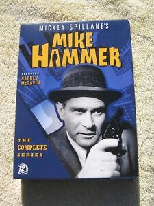 MIKE HAMMER - MICKEY SPILLANE - THE COMPLETE SERIES - black/white -DVD BOXED SET