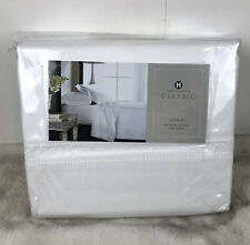 Hotel Collection Queen 4PC Sheet Set 400 TC 100% Egyptian Cotton White
