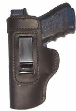 Ruger SR22 Leather Gun Holster LT RH OWB Black