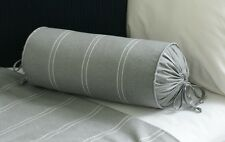 NEW Custom Ralph Lauren Jermyn Street Neck Roll Pillow Neckroll Stripe