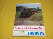 ORIGINAL transpress Eisenbahnkalender Wandkalender 1980 Kalender 29x41 cm DDR