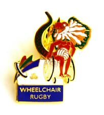 Pin Spilla Olimpiadi Sydney 2000 - Wheelchair Rugby - Paralympics Games