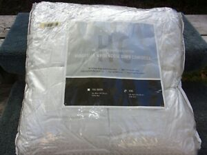 Hotel Collection White Goose Down King Size White/Ivory Comforter