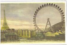 """Reproduction LG Postcard Print Paris France Eiffel Tower La Grande Roue 11""""x17"""""""