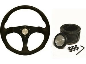 """SAAS Sports 14 """" 350mm Steering Wheel & Boss Kit Suits Holden VS Commodore ADR"""