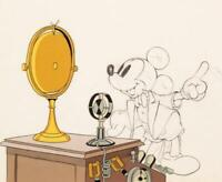 Disney:Mickey's Amateurs Original Production Drawing With Cel Overlay 1937
