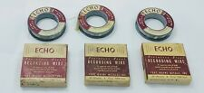 Vintage Wire Reels for Webster Chicago Wire Recorder Model 81 - Tested & Working