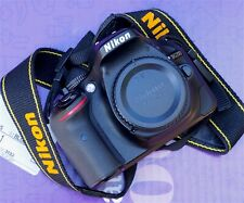 Nikon D5200 24.1MP Excellent used condition Body +charger +2 batteries