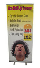 Roll Up Banner Stand With Free Custom Artwork - SHS3941