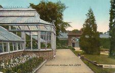 Conservatories - Wardown Park - LUTON - Bedfordshire 1918 Postcard (272MX)