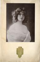Portrait d'actrice, librairie L.Borel, à identifier Vintage silver print