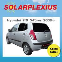 Auto Baby Sonnenschutz Scheiben t/önen Sonnenblende Keine Folie fertige Vorsatzscheiben zum schnellen selber EIN und Ausbauen Fiesta 3-T/ürer Bj.2008-17