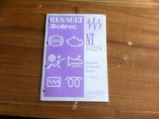 MANUEL DE REPARATION RENAULT NT 3430A DIAGNOSTIC INJECTION  SAGEM TWINGO / CLIO