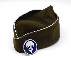 REPLICA WWII US ARMY OFFICER'S GARRISON WOOLEN CAP HAT 58cm