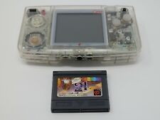 SNK Neo Geo Pocket Color Crystal and Game from Japan