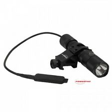 PowerTac E5 980 Lm Flashlight  Weapon Kit, off set weapon mount, pressure switch