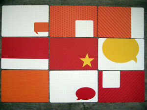 """'SLATE' PROJECT LIFE CARDS BY BECKY HIGGINS -  6"""" X 4"""""""