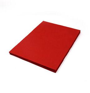 A4 Lokta Handmade Printer and Craft Paper eco-friendly - Red - 20 Sheets