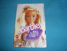 399A Catalogue Dépliant Barbie 1988 Mattel 24 pages Ken Lucky Poupée