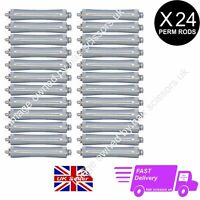 24 X Perming Rod Rollers Perm Curlers Professional Perm size GREY free P&P
