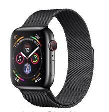Apple Watch Series 4 GPS+LTE 44mm Space Black Stainless Steel Milanese Loop