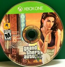 Microsoft Xbox One Grand Theft Auto V Video Games for sale