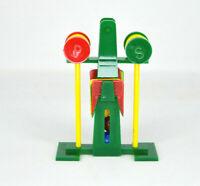 Vintage Plastic Croquet Set Novelty Figural Salt And Pepper Shakers