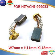 Carbon Brushes For Hitachi 999033 Planer Saw SB-75 WH-22 PSB-7 PSU-6 VTV16 F-30A