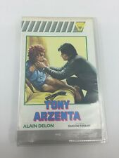 TONY ARZENTA - 1973 - VHS - PAL - Creazioni Video Label - VERY RARE - ITALY