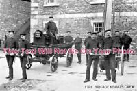DE 978 - R.M.L.I. Plymouth Fire Brigade, Devon - 6x4 Photo