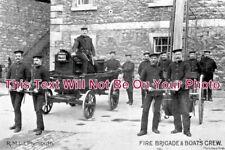 DE 978 - R.M.L.I. Plymouth Fire Brigade, Devon - 6x4 Photo